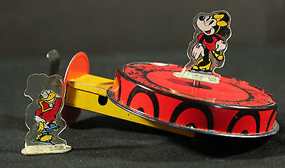 Mettoy Disney Minnie Skating Ring Disneyland 1930 Original Boxed Near Mint