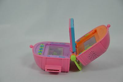 Pixel Chix Boutique Food Court Pink Purse Shell Interactive Toy Batteries Incl.