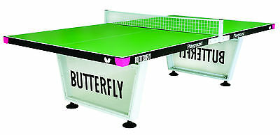 Butterfly Playground Outdoor Table Tennis Table