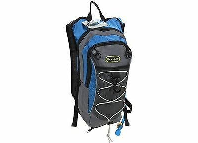 2 Litre Hydration Pack/Backpack Bag With Water Bladder For Running/Cycling BLUE