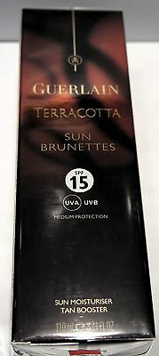 Terracotta Sun Brunettes SPF 15 Sonnenschutz mit Tan Booster NEW CELLOPHANED