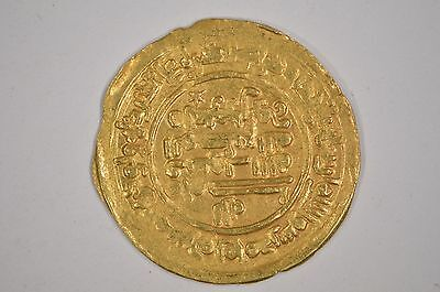 Samanid Empire Gold Dinar AH 361 (971 AD) Mansur I Nishapur Mint 4.0 Grams