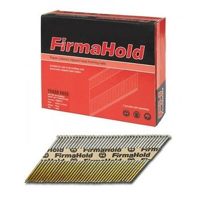 FirmaHold Clipped Head Nails 90mm Retail Pack of 1100 No Fuel