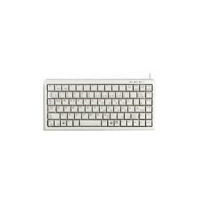 Cherry SMALL KEYBOARD SMALL FORM WHITE PS2/USB MECHANICAL KEY G84-4100LCMGB-0