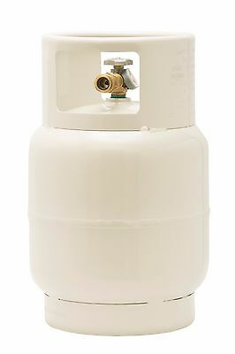 20 LB Floor Buffer Propane Tank with Vapor Valve and Level Gauge Steel New