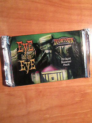 Sealed Deadlands EYE FOR AN EYE 15-Card DOOMTOWN Set Booster Pack Game