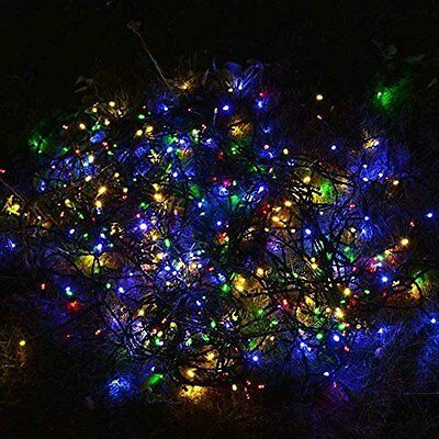 100LED Solar Powered Outdoor String Lights Waterproof for Garden Patio Party Wed