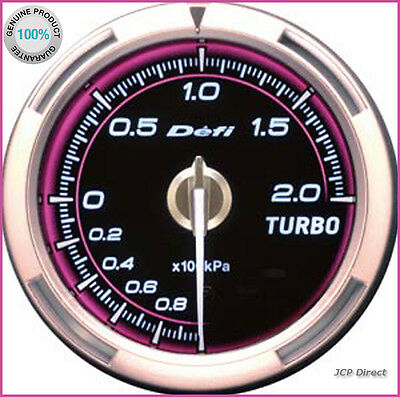 DEFI Link Meter ADVANCE C2 Turbo Boost Gauge 200kPa Pink DF12602