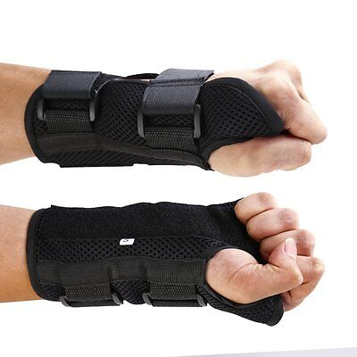 WRIST SUPPORT BRACE Breathable Carpal Tunnel Splint Arthritis Sprain Strain Pain