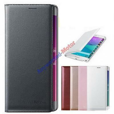 Luxury Card Wallet Flip PU Leather Phone Case Cover For Samsung Galaxy Note Edge