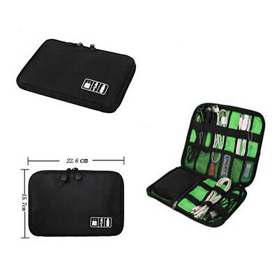 Insert Case Cable Bag Drive Electronic Accessories Organizer Travel USB Portable