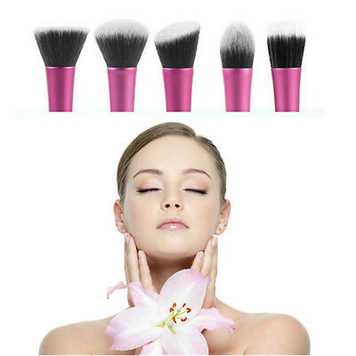 Professional Cosmetic Stipple Fiber Powder Blush Brush Foundation Makeup Tool UK