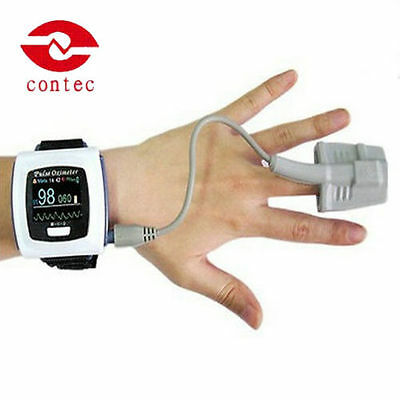 Bluetooth CMS50FW wrist Pulse Oximeter Spo2 Monitor Blood Oxygen PC software