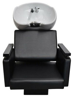 Shampoo Salon Ceramic Hair Wash Basin Chair Professional Hairdressing Furniture