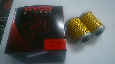 Ryco Oil Filter Cartridge Rmc126 Bmw Motorcycles