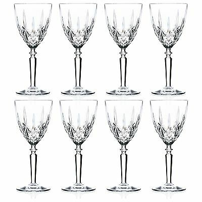 RCR Crystal Orchestra Crystal Wine Glasses - 290ml (9.75oz) Set Of 8