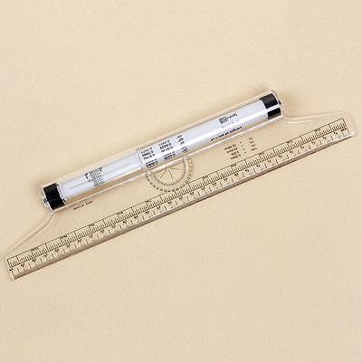 30 cm Tailor Sewing Tools Quilting Patchwork Seam Parallel Drawing Rolling Ruler