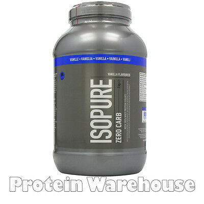 2kg Isopure Zero Carb Pure 100 Iso Whey Protein Isolate Free P&P