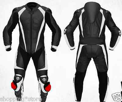*free Logo* Motorbike Leather Suit Motorcycle Jacket Trouser Racing Leather Suit