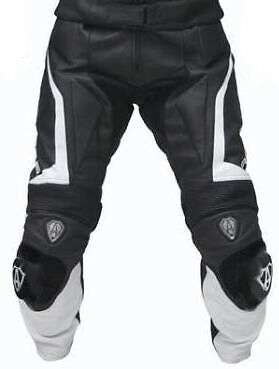 Road Rider Motorcycle Pant Leather Trouser Motorbike Racing Leather Trouser