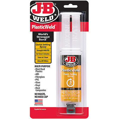 JB Weld - Plastic Weld Epoxy - The Toughest Bond From The USA