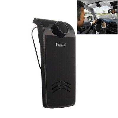 TECH Black BY-01 Car Bluetooth Hands-free Kit with Car Charger, Support Music P