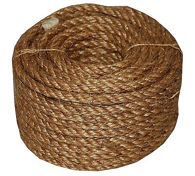 T.W. Evans Cordage High Quality 26-099 1-Inch by 100-Feet 5 Star Manila Rope New