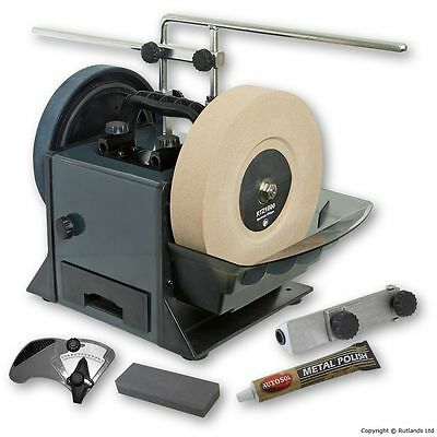 "10"" Water-Cooled Wetstone Sharpening System"