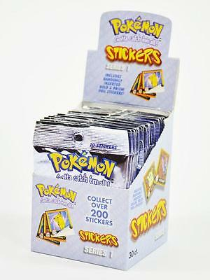 50x Sticker 5 Pack POKEMON Sammelsticker NINTENDO Pokémon Go Pikachu