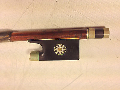 Antique Francois Nicolas or Charles? Tourte Violin Bow Belonged to Curly Herdman