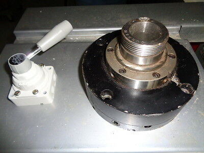Rovi Pneumatic Collet Closer With Air Valve Rotary/ Stationary