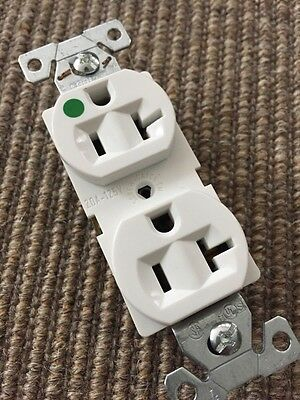 COOPER WIRING 8300W  20A-125V NEMA 5-20  Duplex Receptacle Outlet