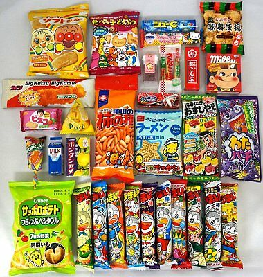 """NEW Assorted Japanese Junk Food Snack """"Dagashi"""" NT6000019 Japan import F/S"""