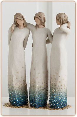 BY MY SIDE Willow tree figurine Signature collection 27368 New