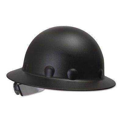 Fibre Metal Supereight Hard Hat with Ratchet Suspension - Black . new free shipp