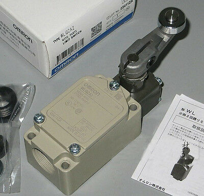 Omron Limit Switch WLGCA2 New In Box