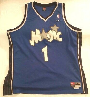 64c0d532760 TRACY MCGRADY ORLANDO Magic NBA Nike swingman jersey men sz 2XL T ...