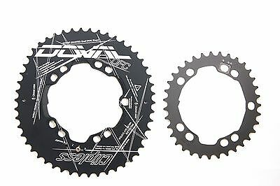 DFC Doval Clipless Chainring Double set BCD110 MGLR ALL-in-one Normal ver.
