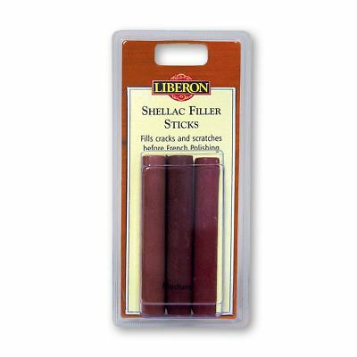 Liberon Shellac Filler Sticks - Tin of 10