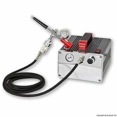 Airbrush Compressor Kit with 1 Gun and Filter