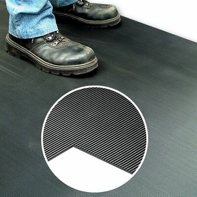 Anti Slip Rubber Matting for Floors and Benches - 2500mm x 900mm