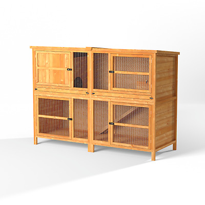 5ft Chartwell Double Luxury Large Rabbit Hutch