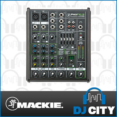 PROFX4V2 Mackie 4 Channel PA Mixer 2 Mic Inputs with FX DJ City Australia