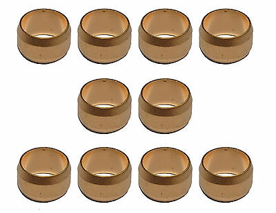 8mm Copper Olives (10 Pack) For Compression Plumbing Fittings