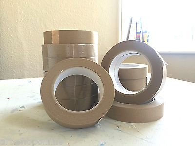 Self Adhesive Brown Picture Framing Tape Framers 25mm PACKS OF 5 10 15