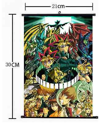 HOT Anime Yu-Gi-Oh Zexal Yuma Wall Poster Scroll Home Decor Cosplay 649