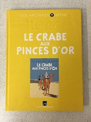 Archives Tintin Crabe Aux Pinces D Or