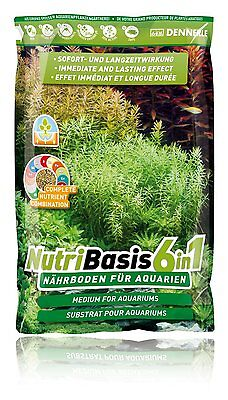 Aquarium Plant Soil Substrate 6in1 Top Quality Dennerle NutriBasis 2.4kg