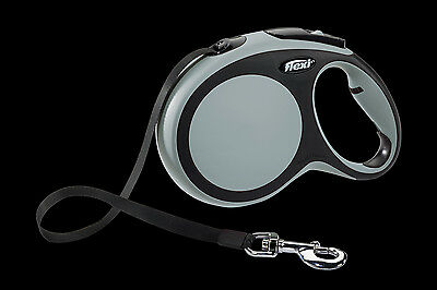 New Flexi comfort tape retractable dog lead  - small, medium or large