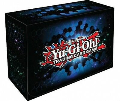 Yu-Gi-Oh Official Double Wide Deck Box By Konami - Trading Card Storage Case